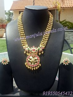 Indian Wedding Jewelry, Bridal Jewelry, Gold Jewelry, India Jewelry, Gold Models, Antique Necklace, Necklace Designs, Jewellery Designs, Necklace Set