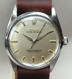 1960's Vintage Rolex Oyster Perpetual Big 20 mm Lugs Beautiful Cal .1030...for sale