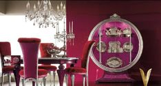 Ultra Luxurious Interiors from Altamoda : Luxurious Interiors Exquisite Collection Red Colors
