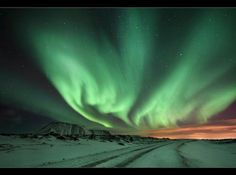 Northern lights beautiful
