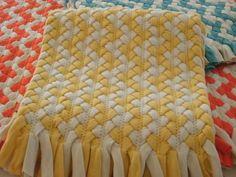 Braided tshirt rug