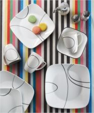 Corelle - Square-Round Simple Lines