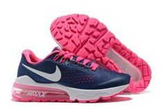 cb073d424d Delicate Nike Air VaporMax Flyknit Navy Blue Pink White 859666 013 Womens  Running Shoes Trainers