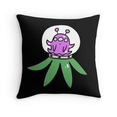Purple Tentacle Alien
