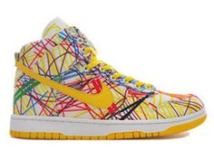 low priced e9ff9 3a3ea Nike Dunks Rainbow Quickstrike Shoes For Men Women Rainbow Nikes, Nike Sb  Dunks, Nike