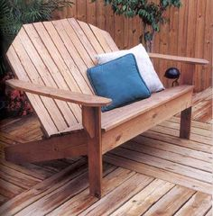 adirondack sofa wood working plans for download