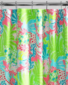 Lilly Pulitzer Shower Curtains