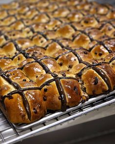 With Easter approaching production of hot cross buns is ramping up @bakersdelight. These chocolate ones have 100 choc chips per bun and are amazing straight out of the oven.