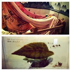 Expo Milano 2015 - China Pavilion (trade of silk and tea).
