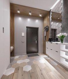 Home Design Decor, Home Interior Design, Interior Architecture, Diy Home Decor, House Design, Design Ideas, Minimalist Small Bathrooms, Interior Cladding, Small Apartment Interior