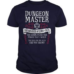 Dungeon Master the weaver of lore and fate tee shirt ,ladies shirt and long sleeve please BUY THIS SHIRT. Tee Shirts, Tees, Mens Tops, Fashion, Moda, T Shirts, T Shirts, Fashion Styles, Fashion Illustrations