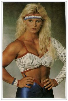 A picture of Raye Hollitt. This site is a community effort to recognize the hard work of female athletes, fitness models, and bodybuilders. American Gladiators, 80s Workout, Men Tv, Female Athletes, Get In Shape, Strong Women, Favorite Tv Shows, Crochet Bikini