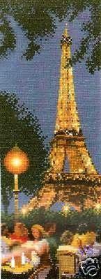 Cross Stitch Chart Pattern   PARIS