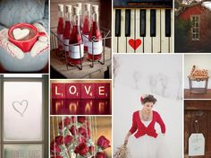 Valentine's Wedding | Burnett's Boards - Daily Wedding Inspiration