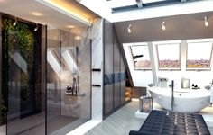 Penthouse we Wrocławiu, 210 m2