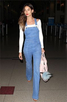 Lily Aldridge Says Taylor Swift Is Sweetest Person Ever Lily Aldridge, Miranda Kerr, Denim Fashion, Girl Fashion, Fashion Design, Cool Girl Style, My Style, New Outfits, Cool Outfits