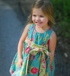 Bubble Dress pattern | Sewing Pattern |  YouCanMakeThis.com