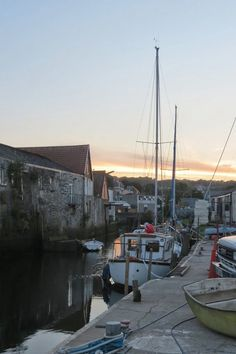 Penryn harbour Doomsday Book, Places Ive Been, Places To Go, Truro Cornwall, Falmouth, South Pacific, Deep Sea, Ponds, San Francisco Skyline