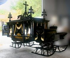 Dashing through the snow ... in a one-horse open hearse ...