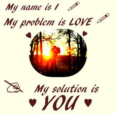 #Love is the solution to everything you are a reflection of me :)