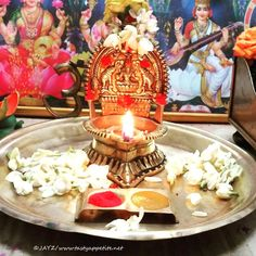 Diwali Decorations At Home, Festival Decorations, Ganesh Rangoli, Temple Design For Home, Silver Pooja Items, Pooja Mandir, Lord Shiva Painting, Puja Room, Divine Mother