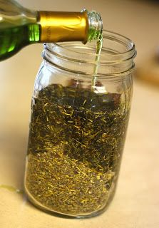 How to Make Herbal Infused Oils - A Step by Step Photo Tutorial