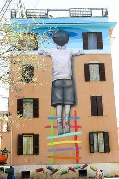 La mappa della street art a Roma - Il Post #homesbyjohnburke #gtaHOMES4u2 @GTAHomes4U