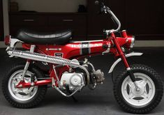 Honda CT70K0 Mini Bike    -   I wanted one of these so bad when I was a kid!