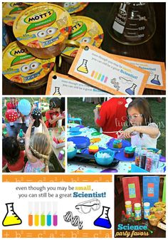 Have a little scientist in the making? Throw them a Science Birthday Party! Check out all these fun ideas from party favors to party food and decor. Plus a free printable!