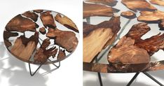 Amazing Resin Table Made From 50,000-Year-Old Wood | Bored Panda