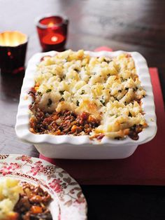 Indian cottage pie - This makes a great change from the traditional recipe and can be made either with vegetable protein or lamb mince. www.essentials.co.za