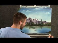 Paint with Kevin Hill - Peaceful Mountain Lake - YouTube