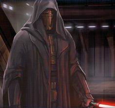 Darth Revan was one of the only Sith to go from being Jedi to Sith, back to Jedi. Revan was betrayed by his apprentice Malak who failed to kill him. The jedi saved his life but wiped his memories. Revan was hailed as a Hero of the Republic and prodigal Jedi, however the council forbade him from teaching. He believed that the Force is neither light nor dark and it is how it is used that matters, a principle Luke Skywalker shares later.
