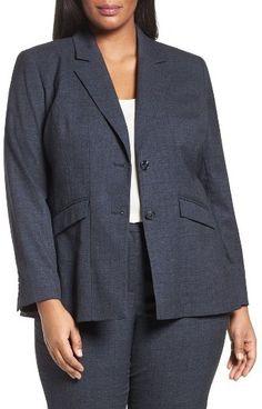 Plus Size Women's Sejour Marine Suit Jacket Affiliate