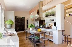 Archtectural Digest presents: Patrick Dempsey's Malibu home | Home Design Ideas