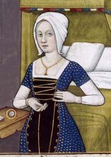 """Boccace's """"De muileribus claris"""" (around 1490"""