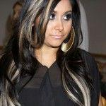 Dark Hair with Blonde Highlights - Hbk Studio