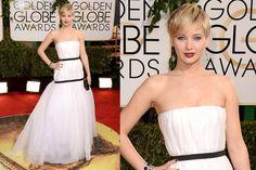 Pictures : Celebrity Red Carpet Style at the 2014 Golden Globe Awards - Jennifer Lawrence 2014 Golden Globe Awards