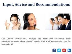 #CallCenter #Consulting can give your #Business a corporate image by managing your communication lines. Effective communication applications improve contact among your workers, suppliers, and customers. See video and learn more about how call center consultanting assesses the unique needs and challenges of each client and delivers relevant solutions.