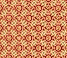 Medieval Circles and Diamonds | Spoonflower