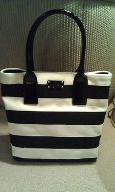 kate spade Kate Spade Totes, Bago, Beautiful Bags, Kate Spate, My Bags, Purses And Handbags, Fashion Bags, Bag Accessories, Black Cream