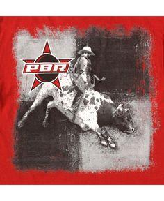 S/S Red PBR Bull Rider Shirt