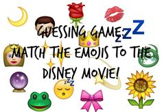 Guessing Game: Can You Match the Disney Movie to the Emojis?