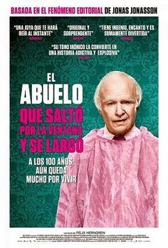 A los 100 años aun queda mucho por vivir, película basada en la novela. DVD 791 COMEDIA