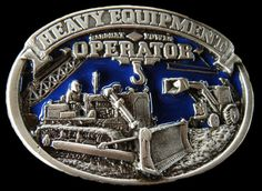 CONSTRUCTION BULLDOZER OPERATOR HEAVY EQUIPMENT OCCUPATIONAL BELT BUCKLE BUCKLES #heavyequipment #Casual #construction #beltbuckle #buckles