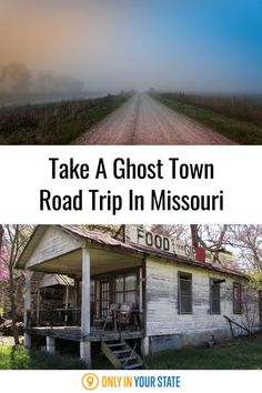 Take a spooky road trip through some of Missouri's most interesting ghost towns. These abandoned villages are filled with local history. Haunted Places, Abandoned Places, 50 States, United States, Local History, Ghost Towns, Natural Wonders, Small Towns, Family Life