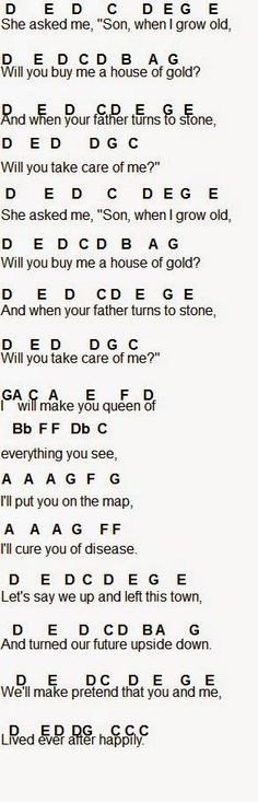 Flute Sheet Music: House Of Gold