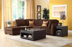 cool living room chocolate brown sofa regarding Really encourage Check more at http://bizlogodesign.com/living-room-chocolate-brown-sofa-regarding-really-encourage/