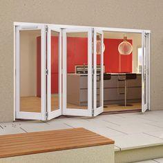Folding Patio Doors Folding Patio Doors, The Doors, French Doors, Locker Storage, Garage Doors, Indoor, It Is Finished, House Design, Outdoor Decor