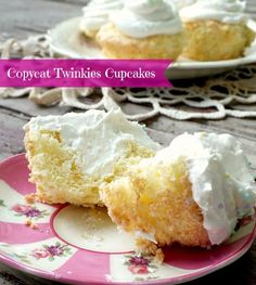 copycat twinkies cupcakes are light, sweet, and so easy to make for someone special!